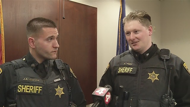 Genesee County Sheriff's Deputy describes being shot at during traffic stop
