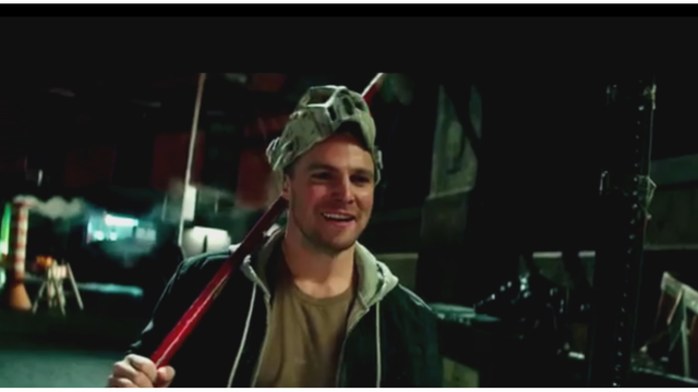 Stephen Amell Casey Jones Car