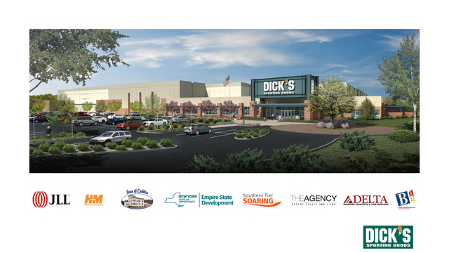 Dick's Sporting Goods to build massive S.Tier warehouse