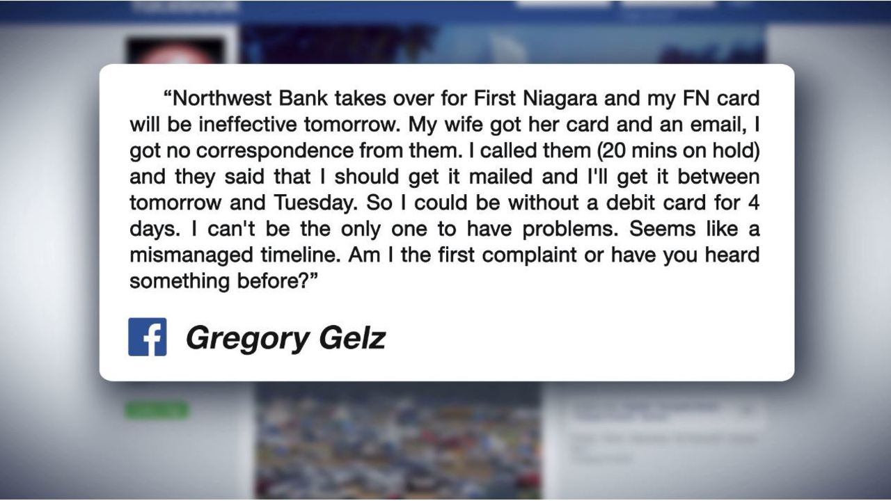 customers run into problems while first niagara bank transitions to