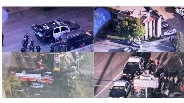 Several shot in Long Beach, police say