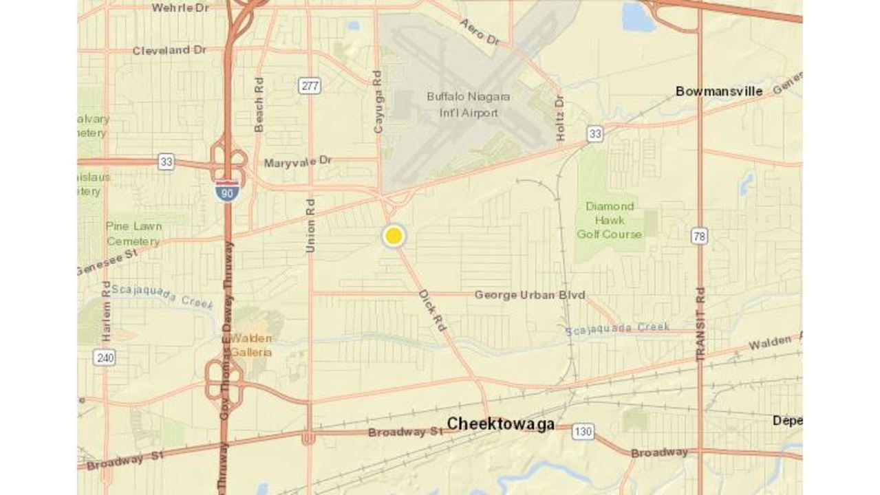 Over 1600 without power in Cheektowaga WIVB