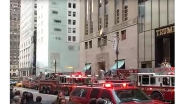 Apartment fire breaks out in Trump Tower leaves 1 dead