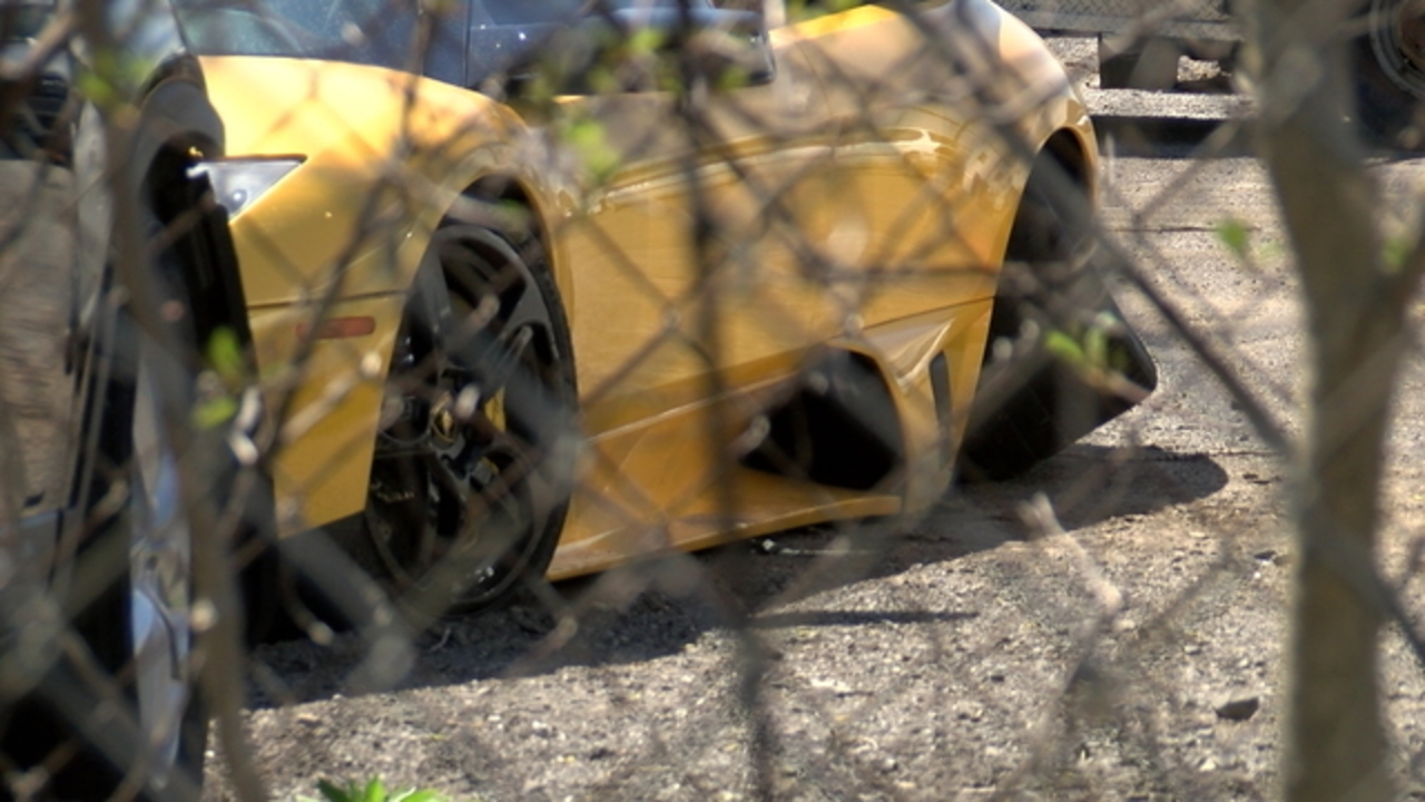 Lamborghini Remains In Impound After Hit And Run Crash In Rochester