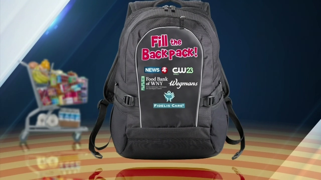 More than 164,000 lbs. of food collected in this year's Fill the Backpack campaign