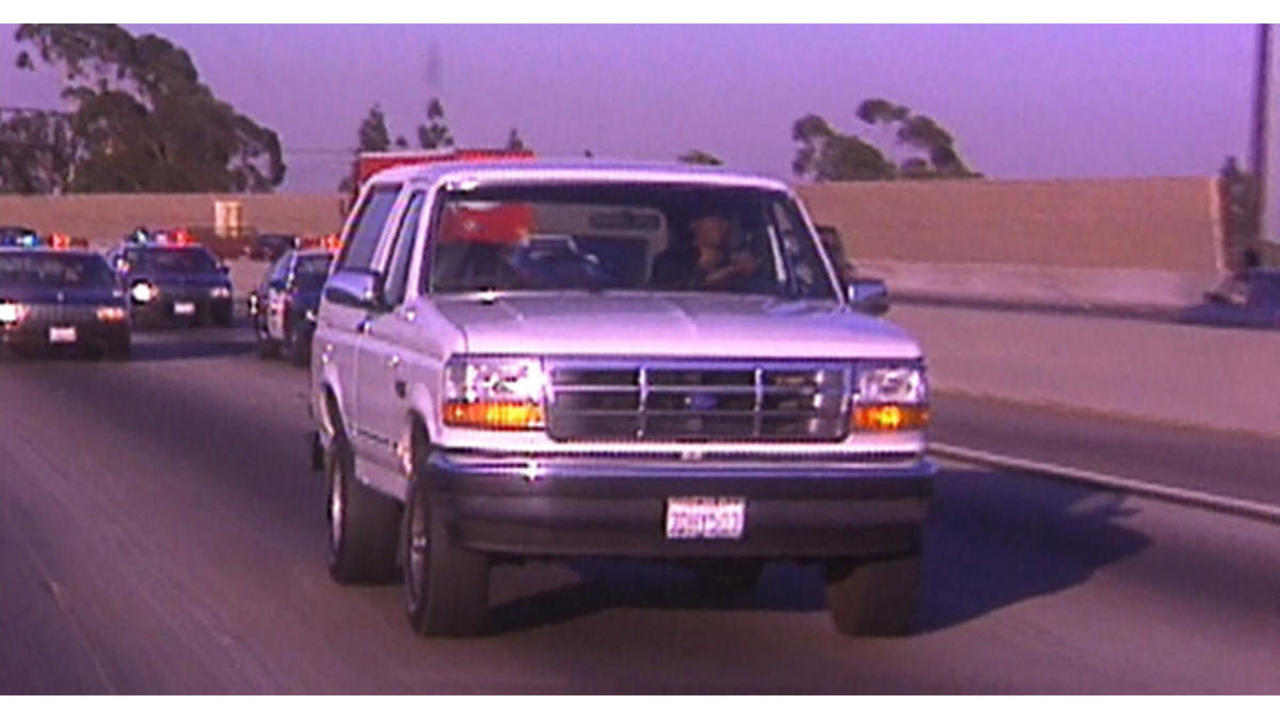 24 YEARS AGO: The infamous O.J. Simpson white Bronco chase
