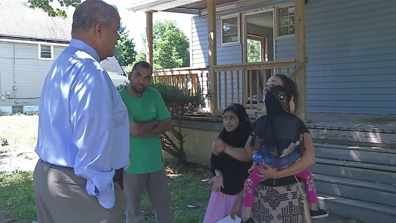 Condemned house sold to immigrant family in Buffalo