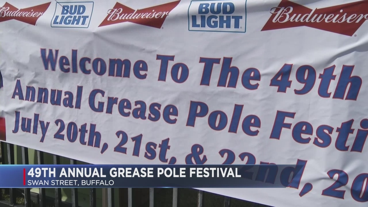 49th annual Grease Pole Festival happening this weekend in Buffalo
