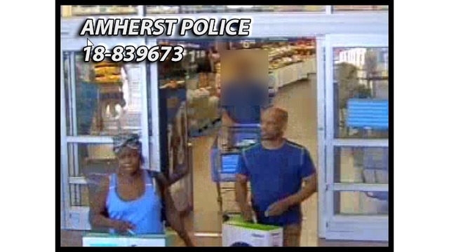 Amherst Police looking to identify for suspects in theft from Sheridan Drive store