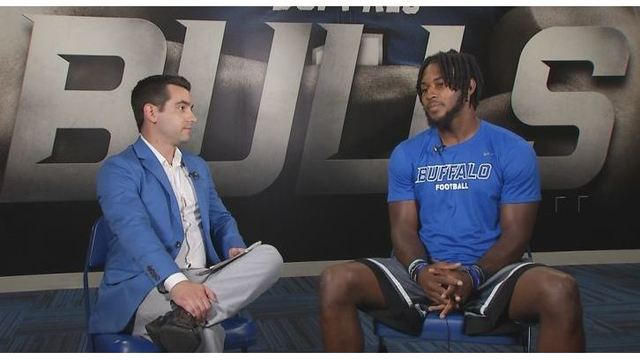 1-on-1 with UB wide receiver Anthony Johnson
