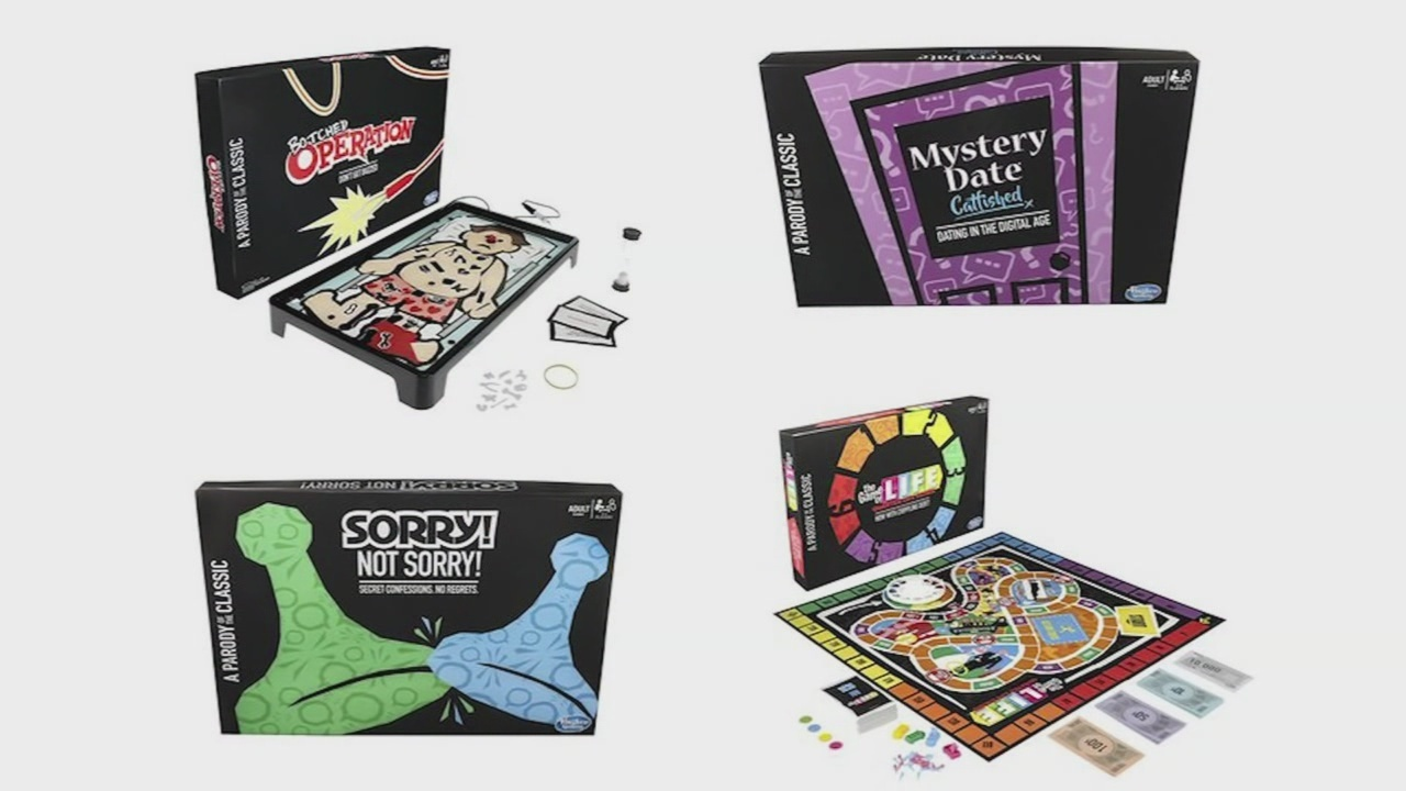 Hasbro launches series of parody games