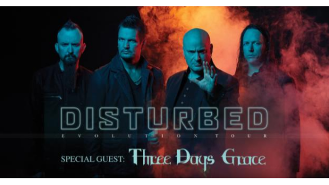 Disturbed, Three Days Grace coming to KeyBank Center