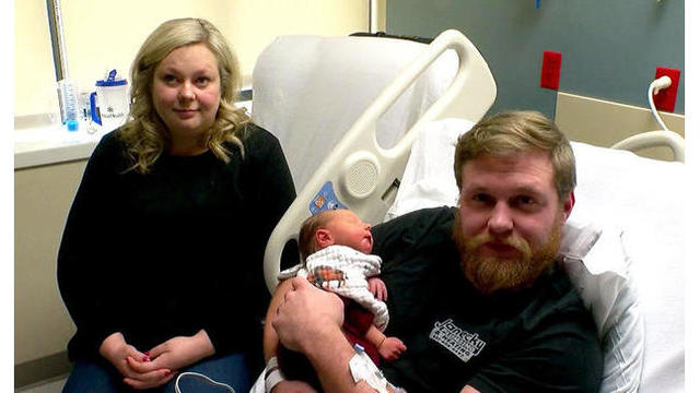 Pregnant wife gives CPR to husband in cardiac arrest day before giving birth