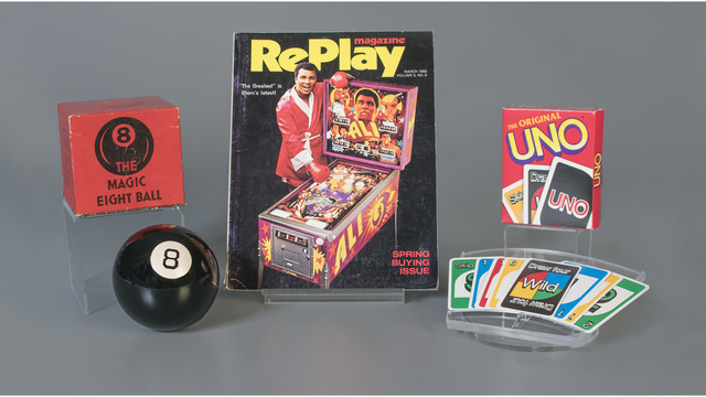 Uno, pinball and Magic 8 Ball added to Toy Hall of Fame
