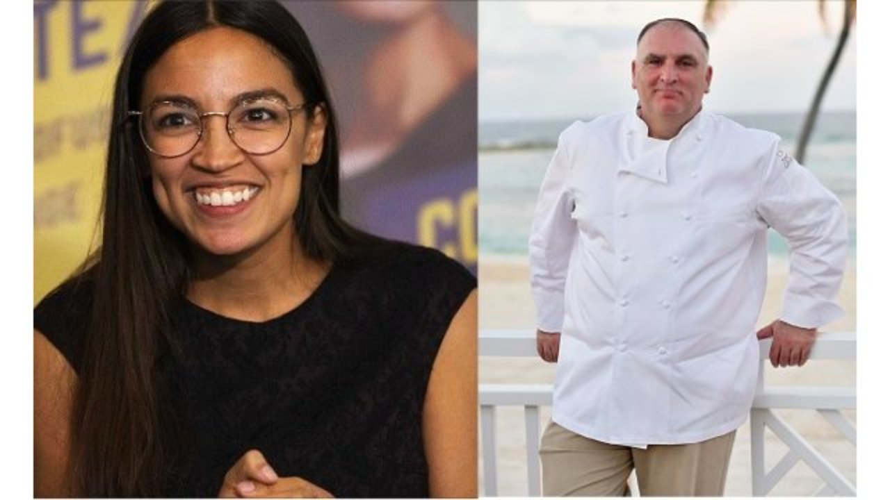 José Andrés offered Alexandria Ocasio-Cortez a place to stay in D.C.