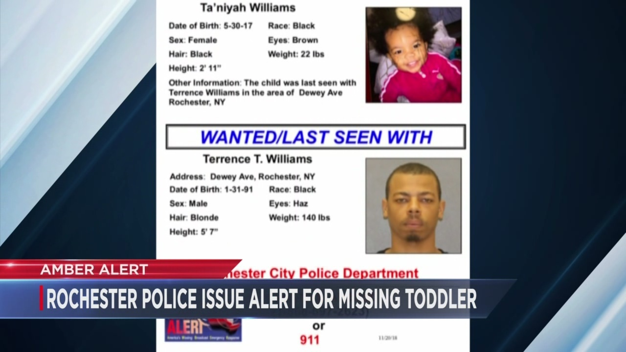 amber alert issued for child from rochester