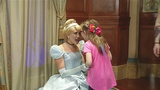 Girl with autism meets real Cinderella after princess mix-up at Akron Falls Park