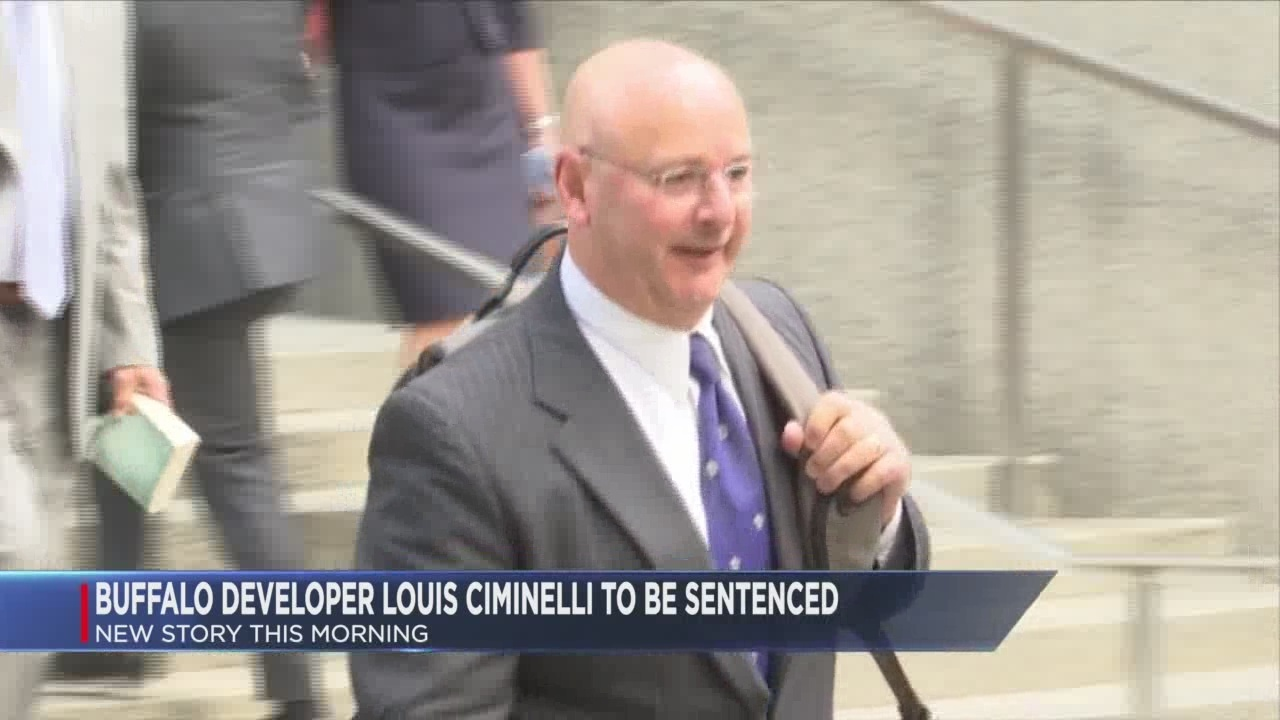 Ciminelli facing up to 20 years in prison for corruption involving Buffalo Billion
