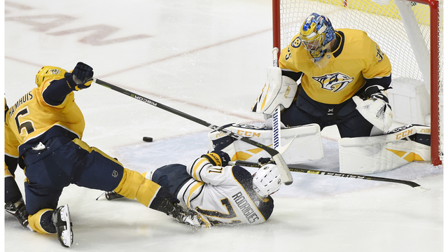 Rinne & Preds hand Sabres a 3rd straight loss