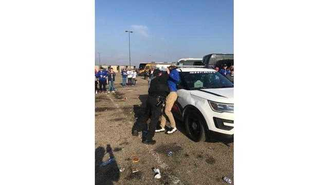 VIDEO: Bodycam footage of UB student's arrest at 2017 Bills game WARNING: Strong language
