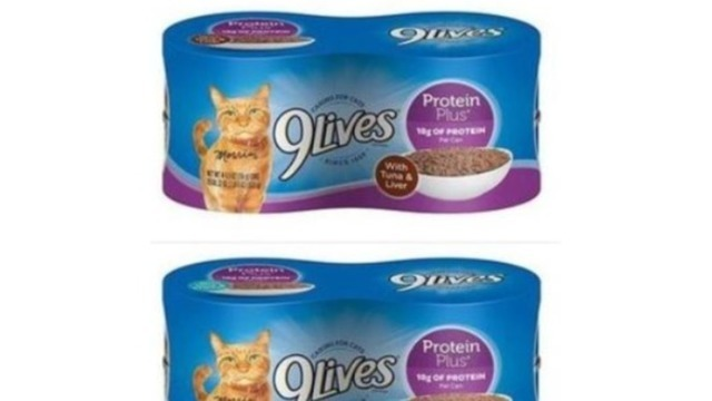 9Lives cat food recalled due to health risk