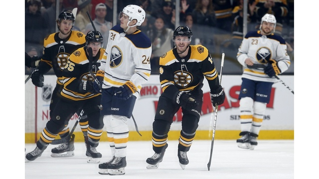Sabres Struggle To Score, Fall To Bruins 2-1