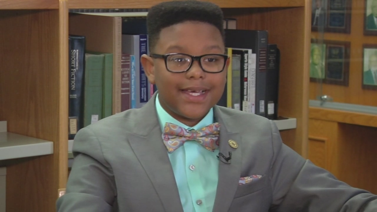11-year-old starts college