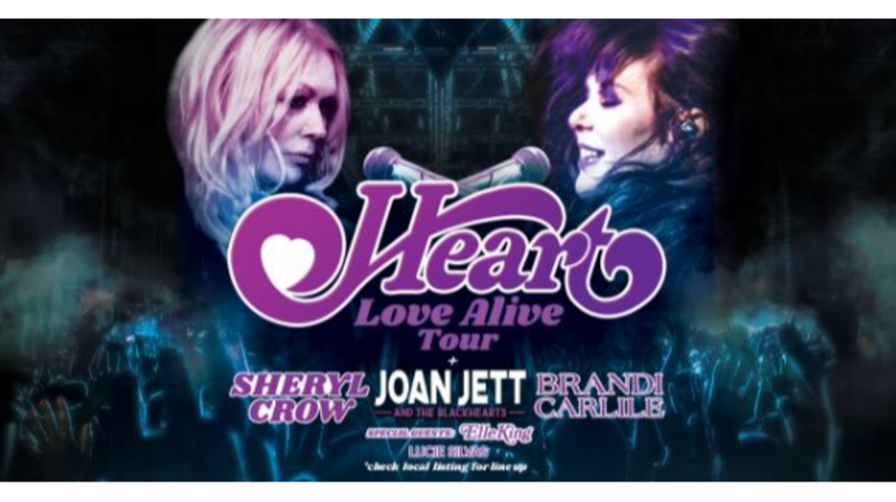 Heart, Joan Jett coming to Darien Lake in July