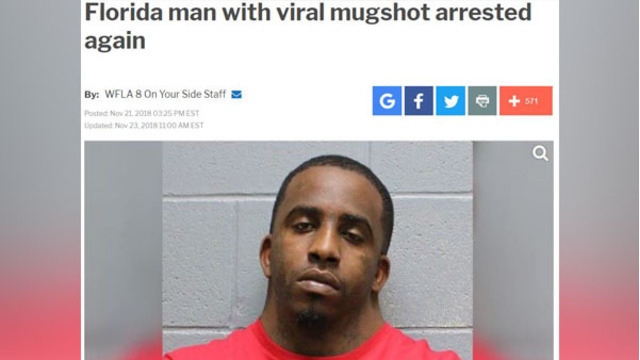 How to find your very own 'Florida man' story