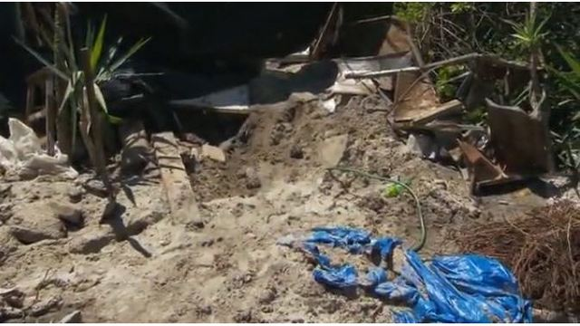 Florida man explains why he buried his friend in his backyard
