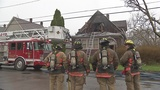 Firefighter, cat hurt in fire on Landon St. in Buffalo