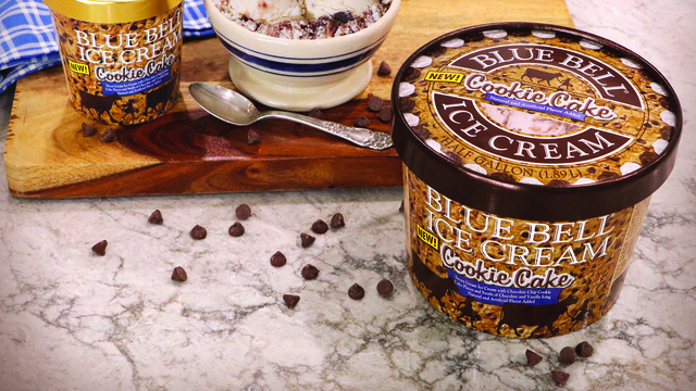 """Blue Bell announces new limited-release """"Cookie Cake"""" ice cream"""