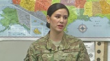 Air Force Captain shares her inspirational message in the Queen City