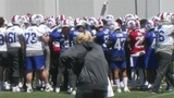 Bills head into day 2 of organized team activities