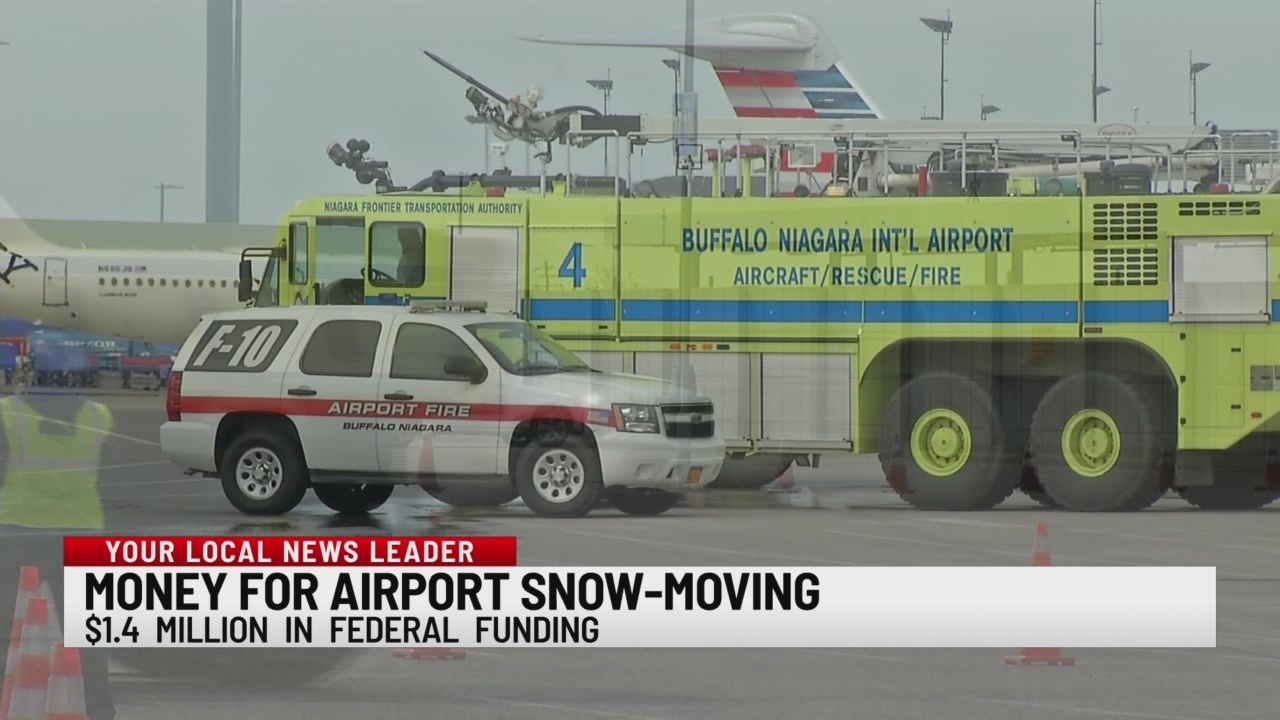Buffalo airport gets $1.4 million for snow removal