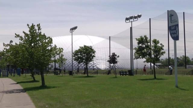 Golf dome in Town of Tonawanda set to come down Thursday