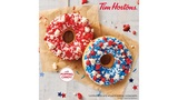 Tim Hortons unveils donuts with popping candy for Independence and Canada Day